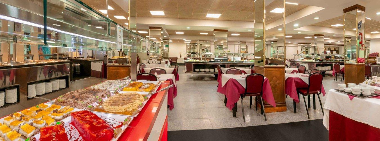 Restaurant buffet hôtel magic cristal park benidorm