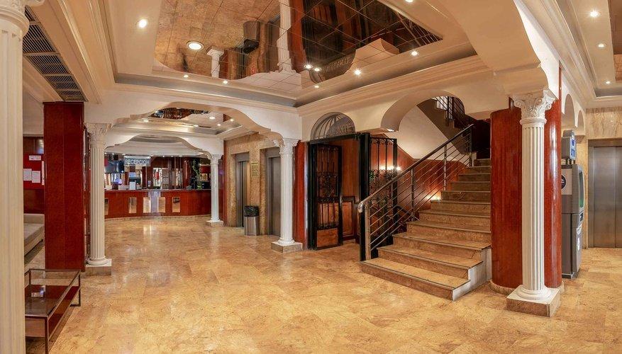 Accueil hôtel magic cristal park benidorm